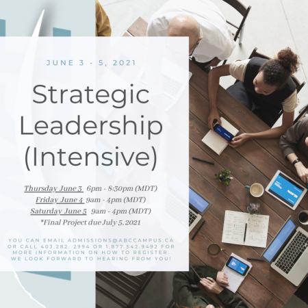 P4335 Strategic Leadership (Intensive)